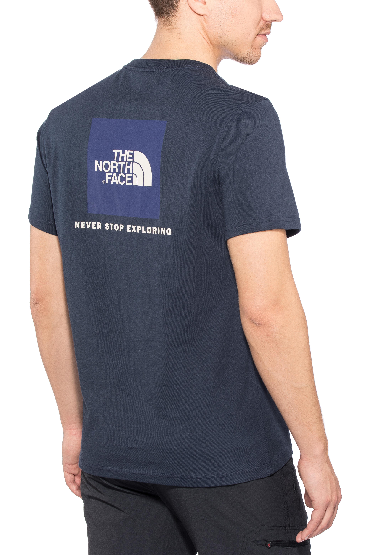 tout neuf cf97e 43fd7 The North Face Redbox T-shirt Homme, urban navy/vintage white